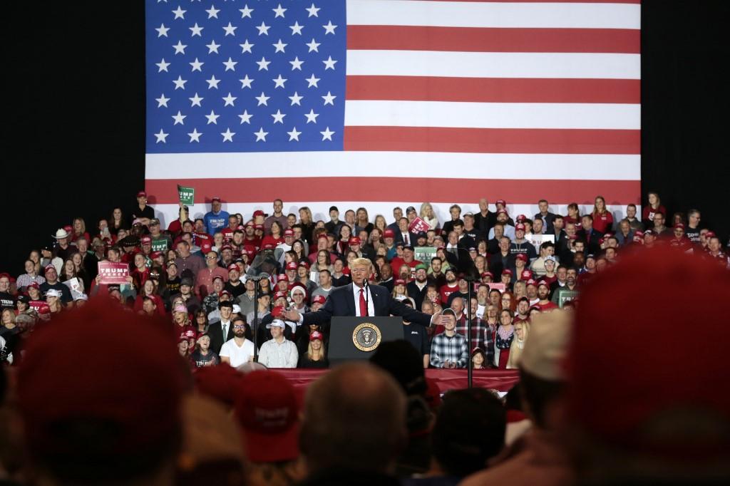 Donald Trump habla sobre juicio político