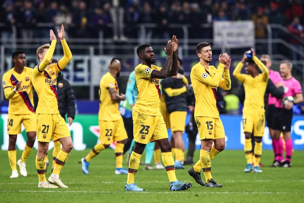 Inter vs Barcelona, Champions