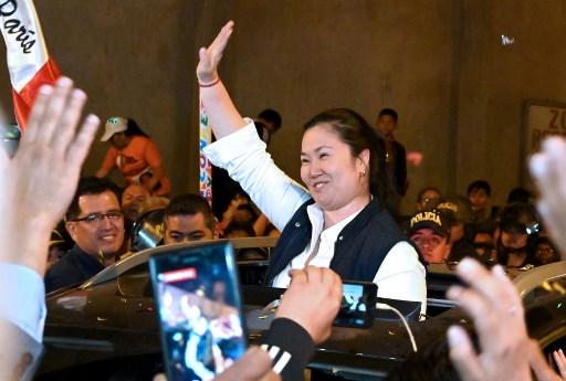 Fuerza Popular, partido político liderado por Keiko Fujimori, fue incorporado en las investigaciones por recibir dinero de la brasileña Odebrecht.