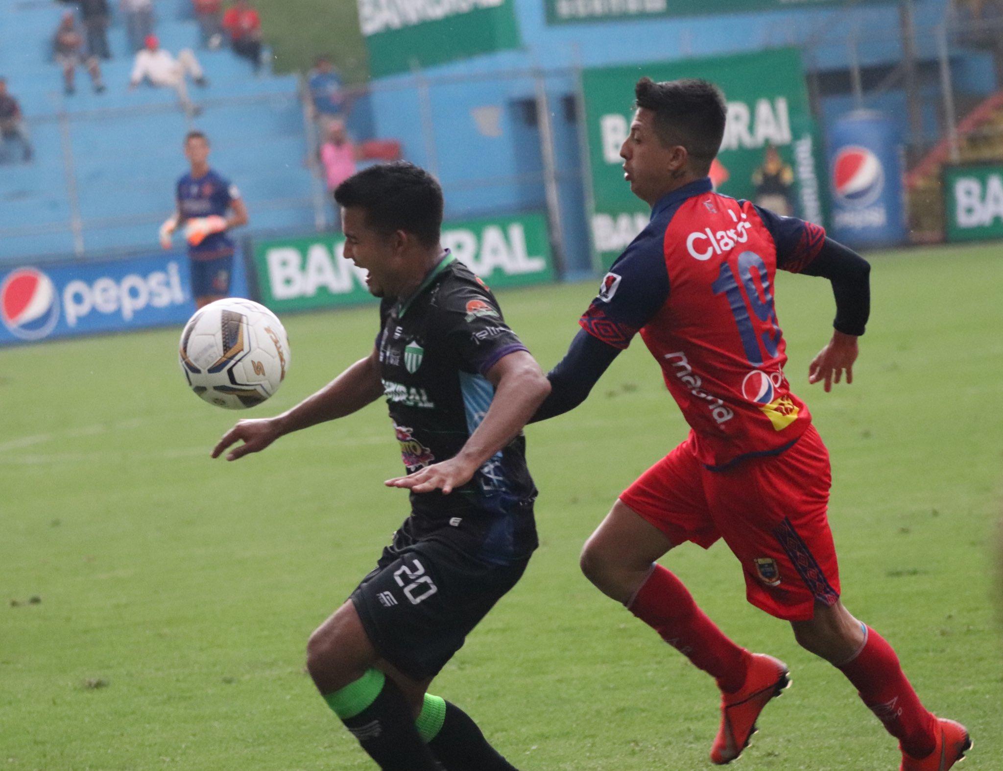 Municipal vs Antigua, Apertura 2019