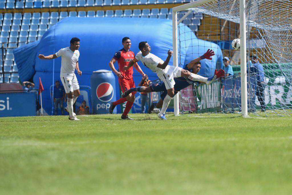Portero titular Muncipal, final Apertura 2019