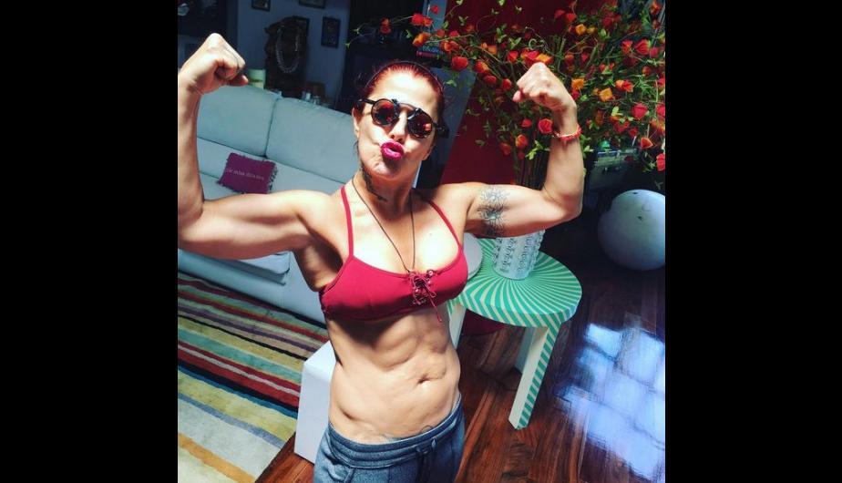 Alejandra Guzmán presume su figura