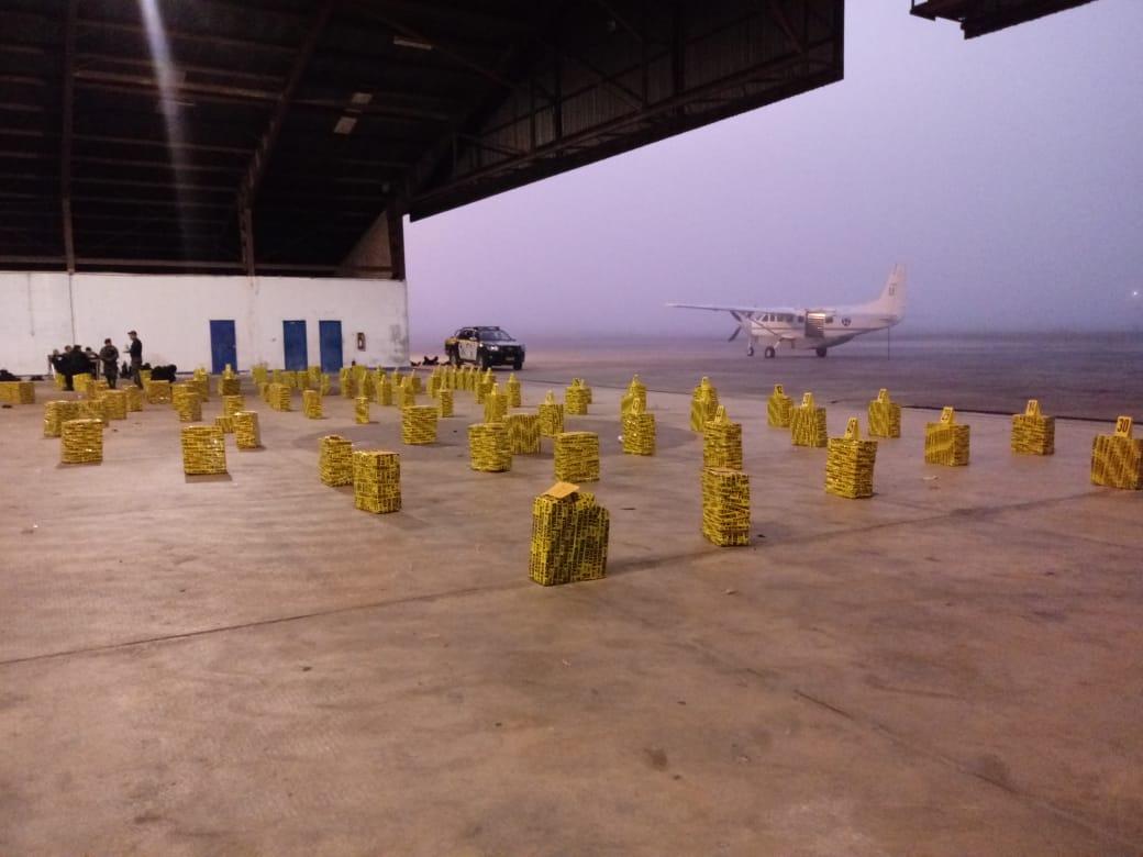 Son 2500 paquetes de cocaína los incautados en Petén