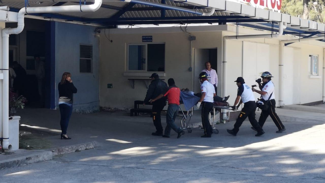 Heridos ingresados a Hospital Roosevelt