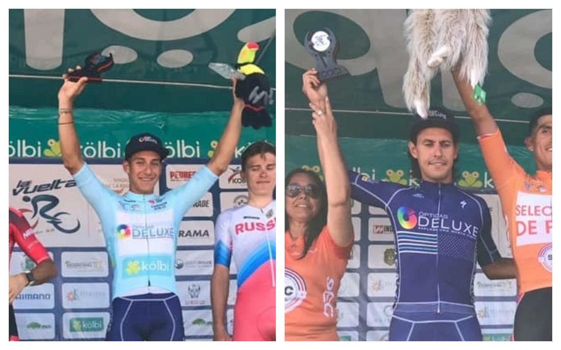 Luis López fue tercero de la Vuelta a Costa Rica.