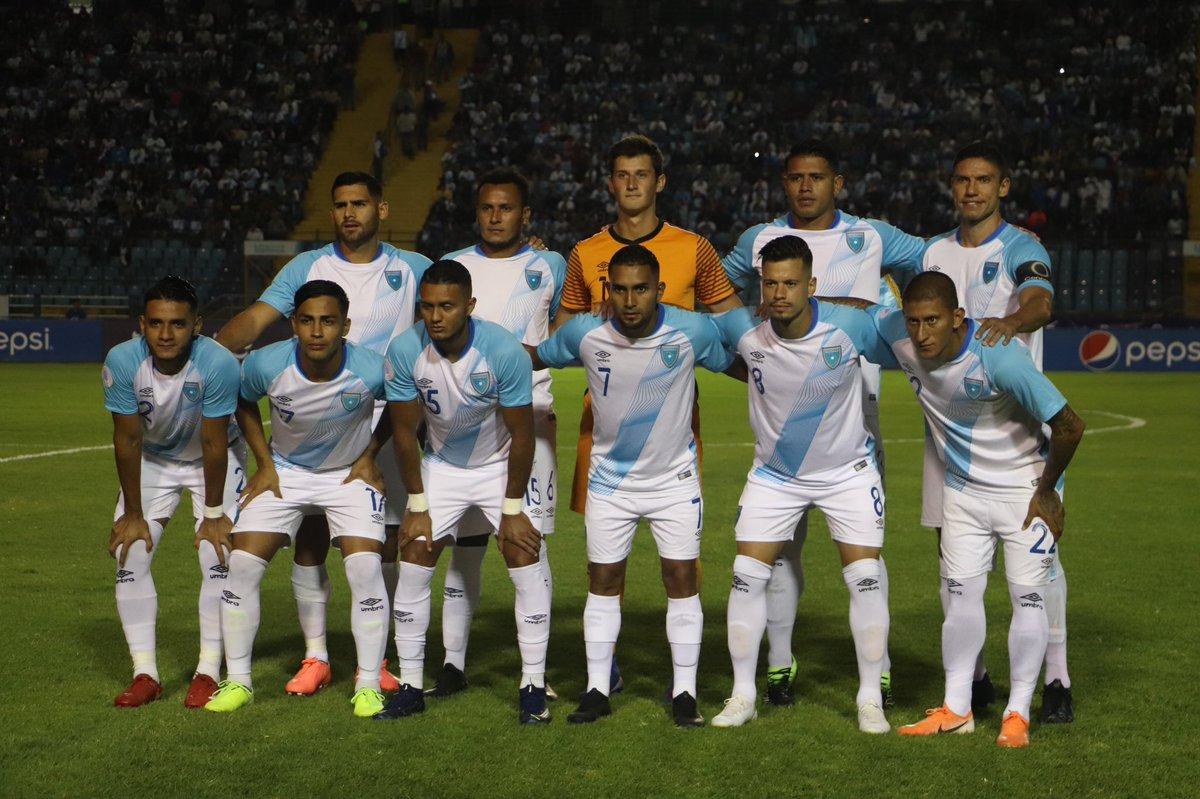 Calendario selección nacional de Guatemala 2020
