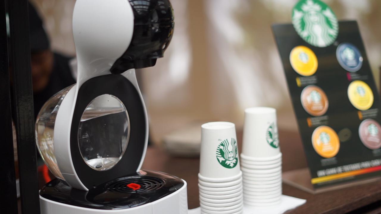 Cápsulas Starbucks y Nescafé Dolce Gusto