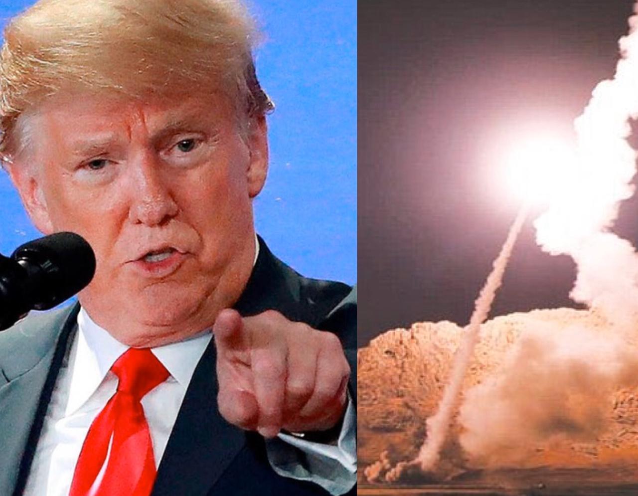 Trump se pronuncia tras ataque iraní a base militar estadounidense