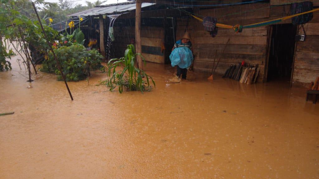 Chahal afectada por lluvias