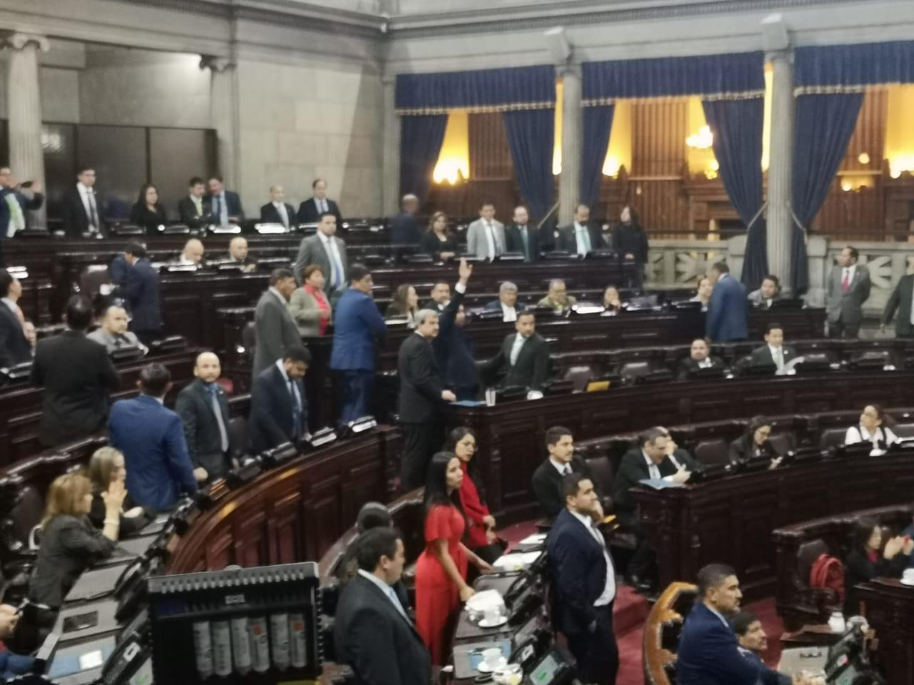 Congreso reparte comisiones de trabajo