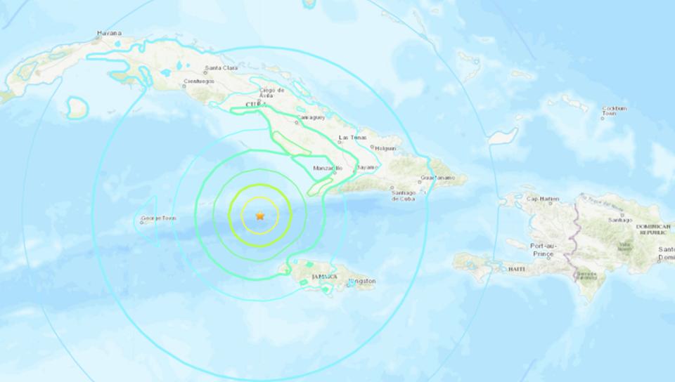Terremoto en Jamaica genera alerta de Tsunami el cual se descarta para el país
