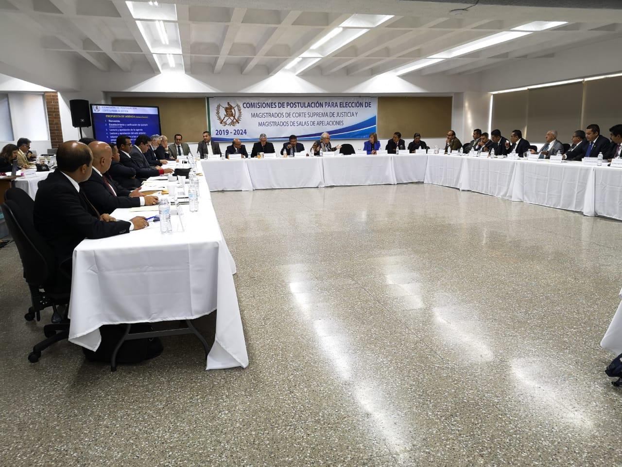Postuladora para aspirantes a magistrados de la CSJ no logra acuerdos sobre tabla de gradación