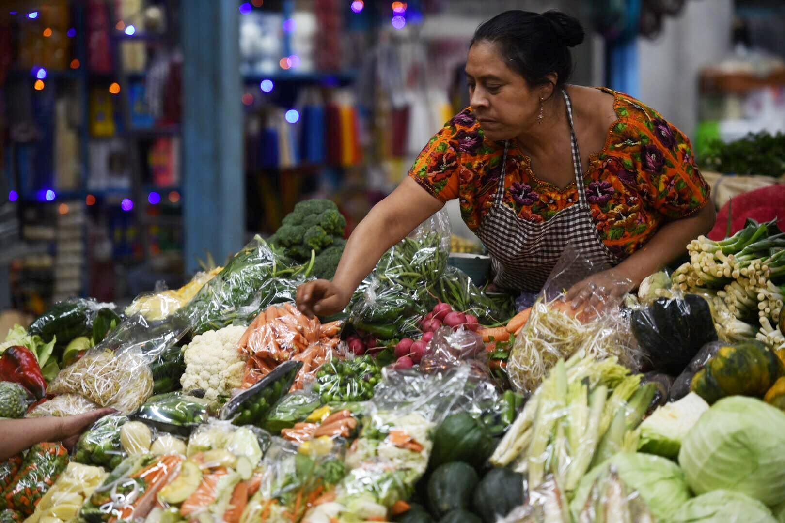 Verduras forman parte de la canasta básica