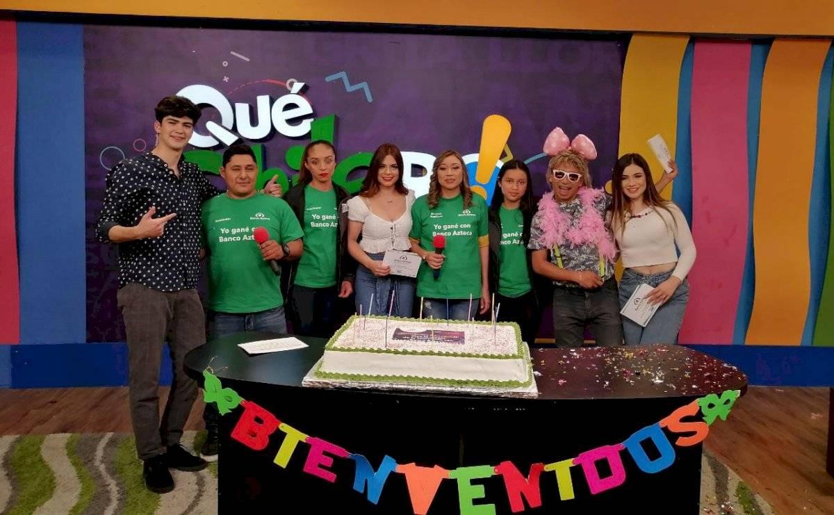 Dos afortunados guatemaltecos conocieron la magia de la Televisión