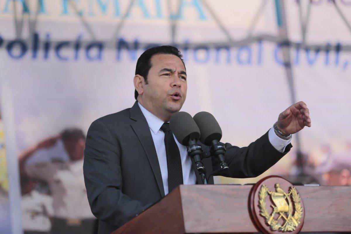 El presidente Jimmy Morales habló sobre su futuro luego de dejar la Presidencia