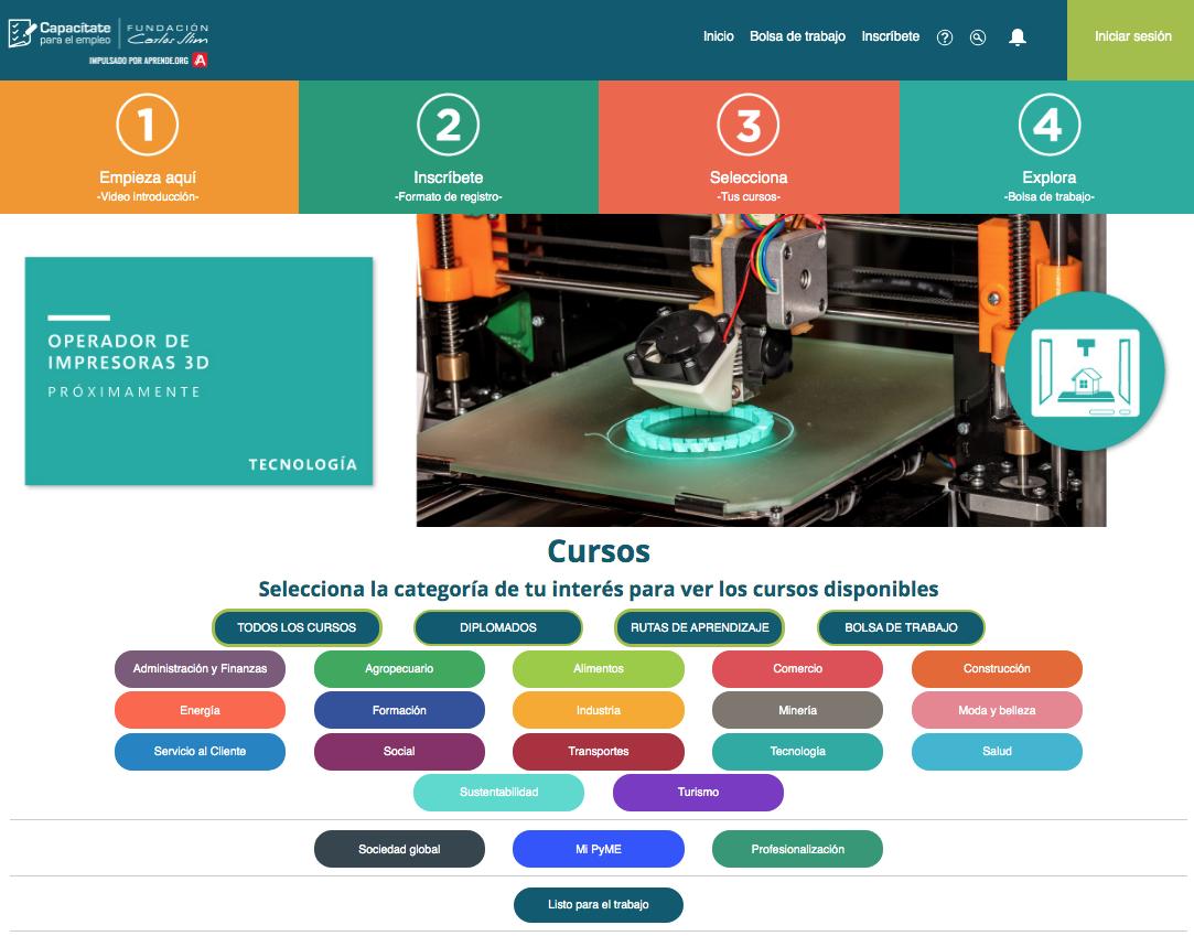 Cursos en línea Intecap Guatemala