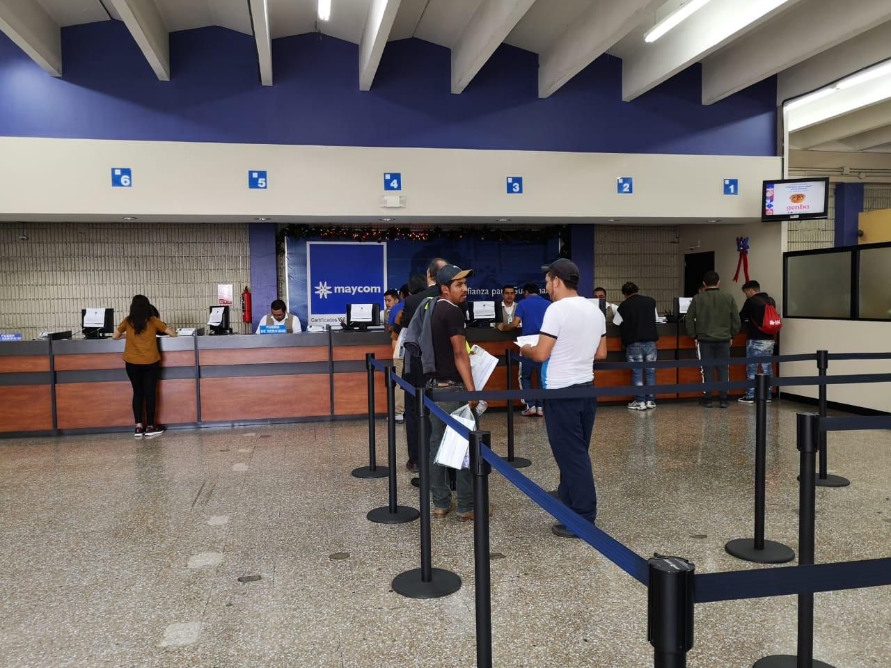 Maycom extiende licencias con normalidad en todas sus sedes