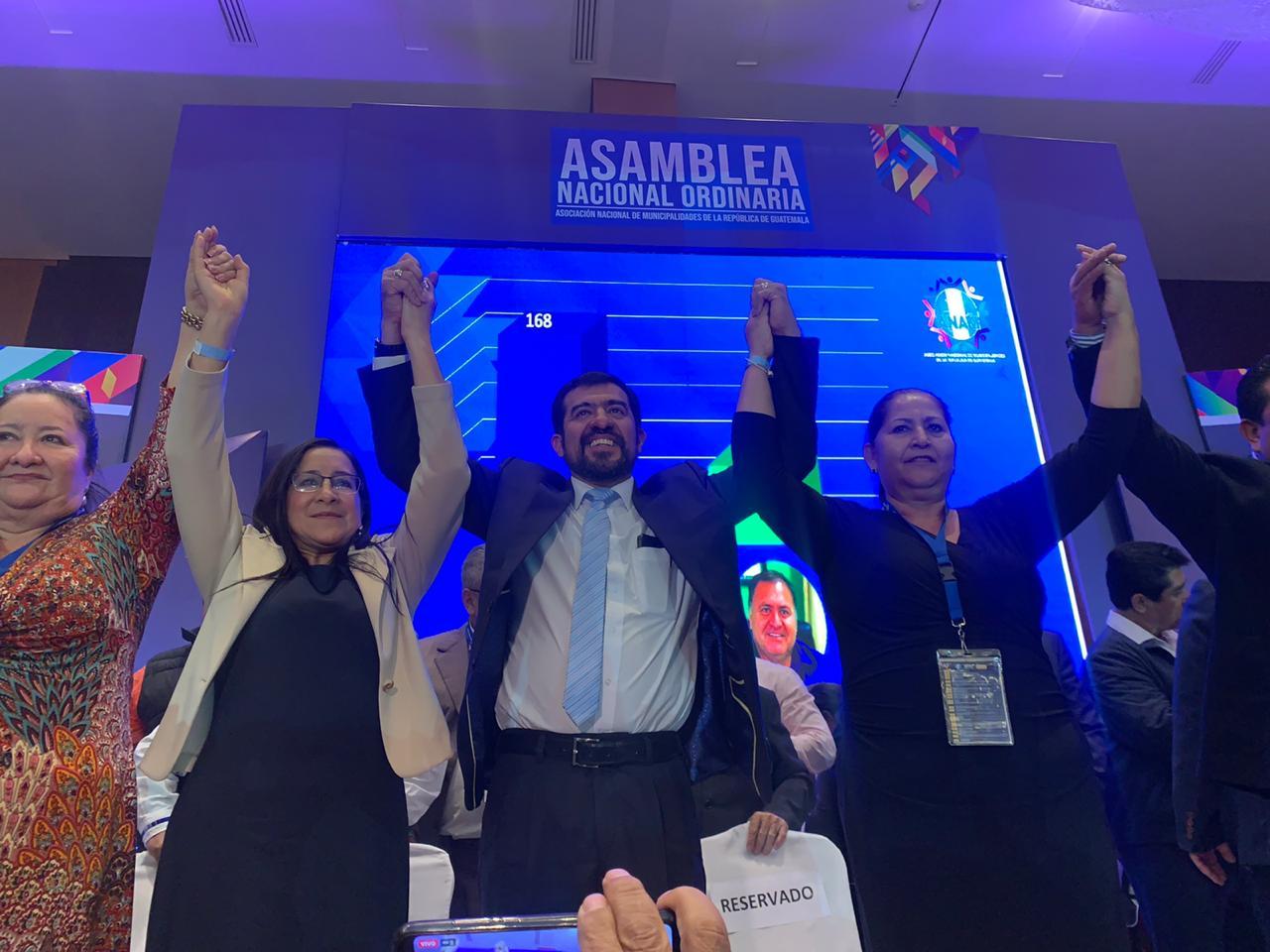 Miguel Ovalle, alcalde de Salcajá, el nuevo presidente de Anam