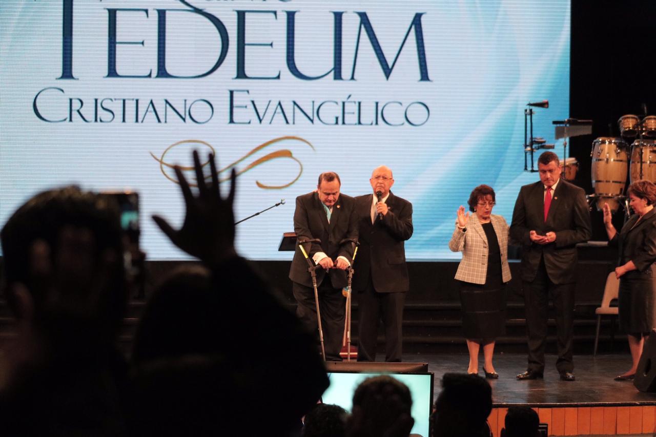 Pastores evangélicos oran por el nuevo gobierno
