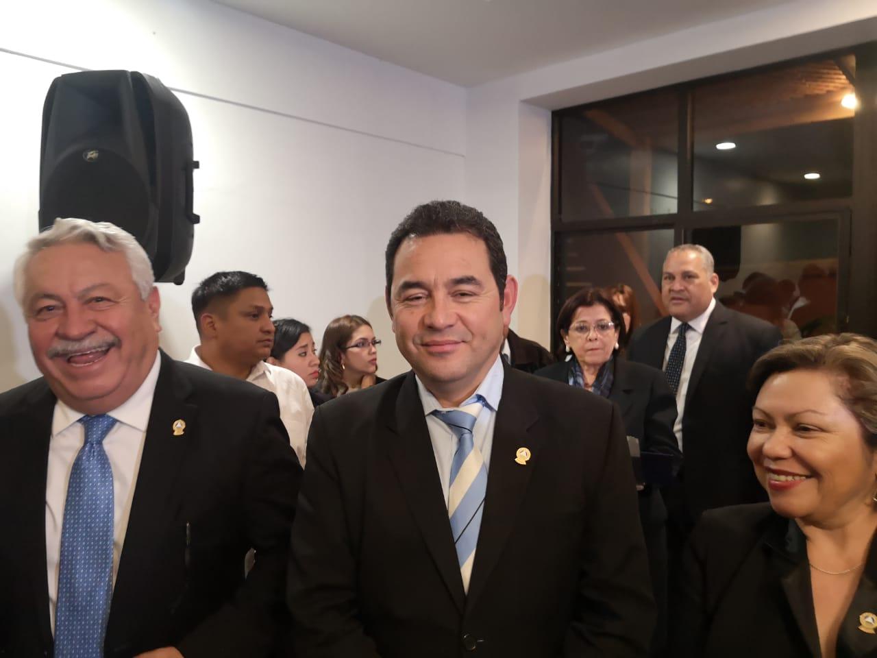 Reves a acuerdo firmado por Jimmy Morales sobre creación de política de protección al migrante