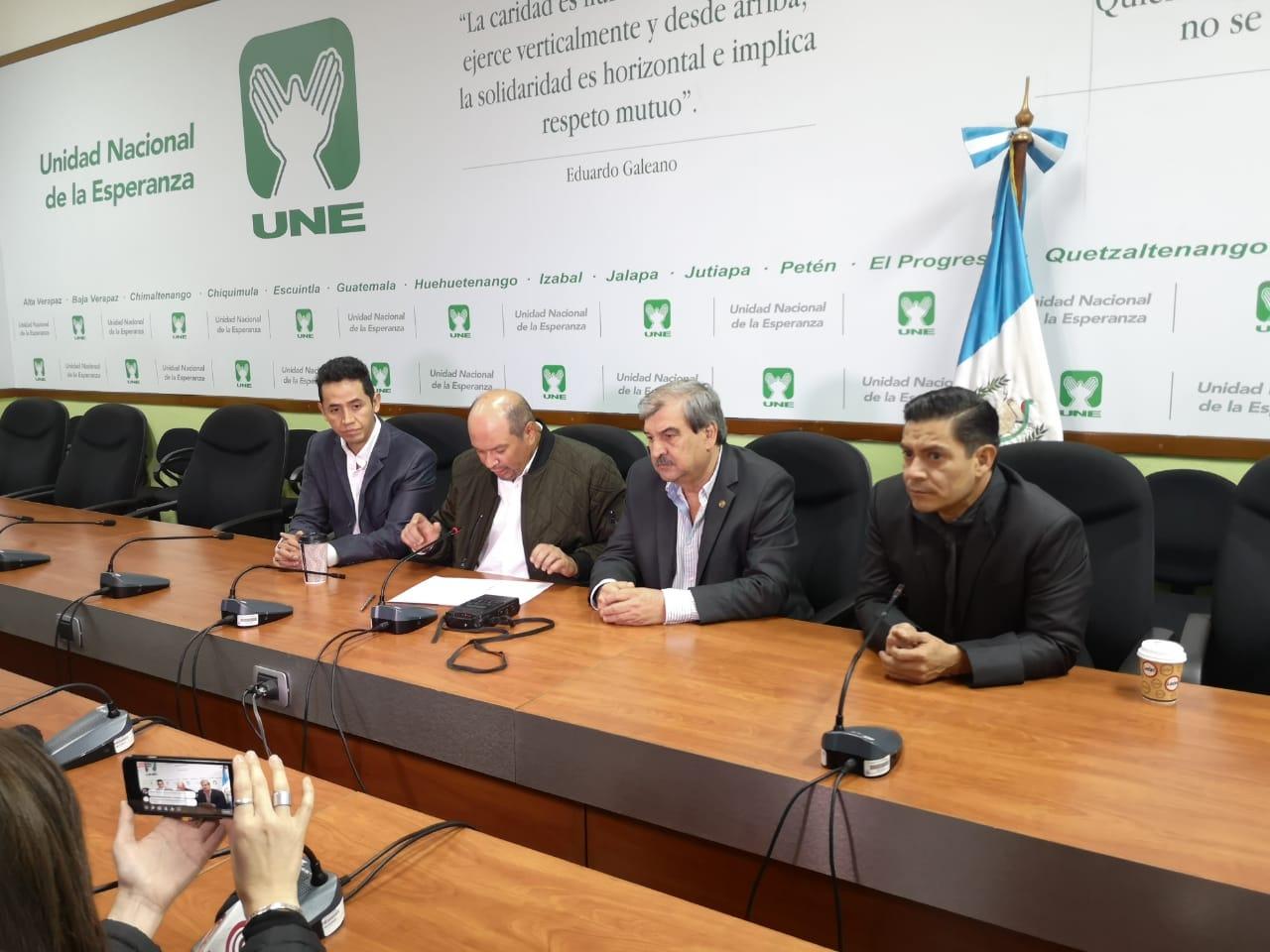 UNE: pagaron Q200 mil para votar por nueva Junta Directiva del Congreso