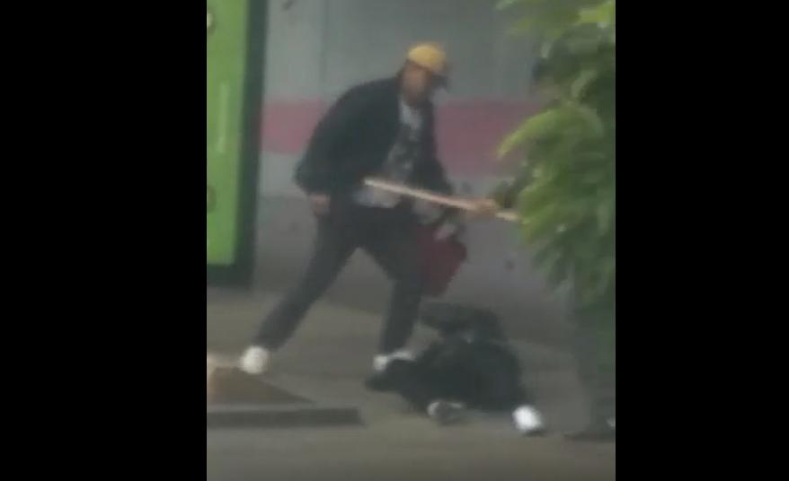 Vapulean a ladrones tras asalto a bus en bulevar Liberación
