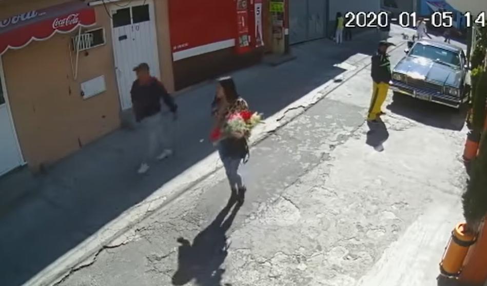 Vendedora de flores es el distractor para cometer robos nueva modalidad