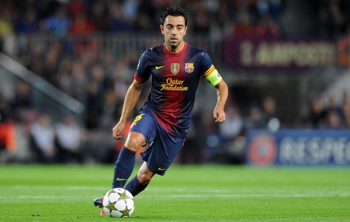 Xavi, FC Barcelona