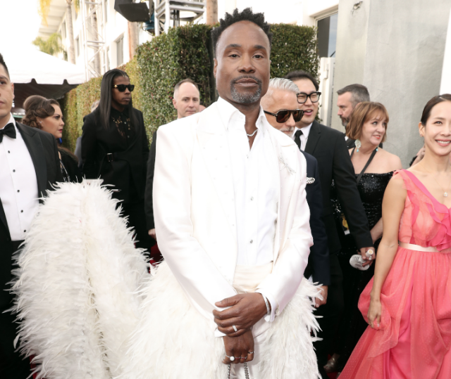 Billy Porter alfombra roja Golden Globes