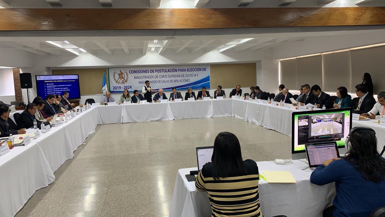 comisión postuladora para elección de magistrados de la CSJ