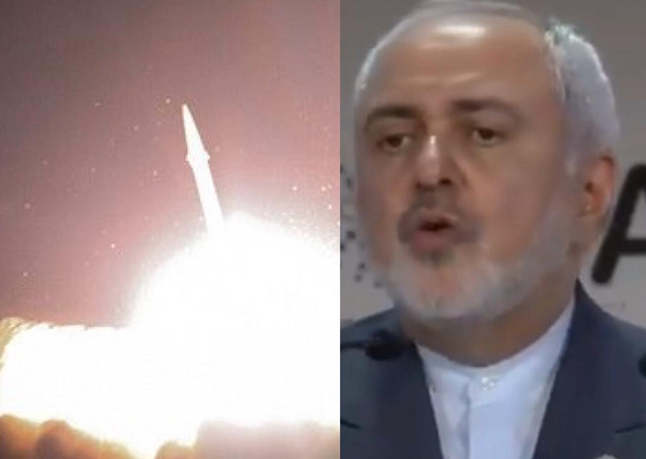Canciller de Irán habla tras ataques a bases militares estadounidenses