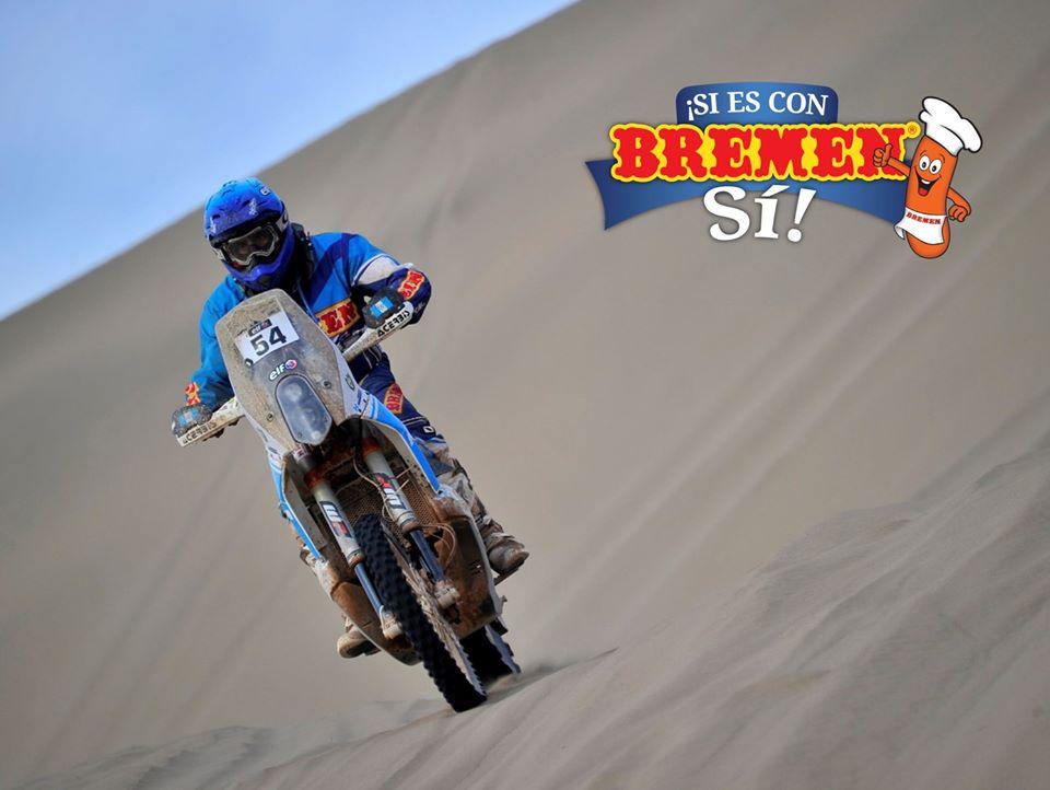 Francisco Arredondo culmina la segunda etapa del Rally Dakar