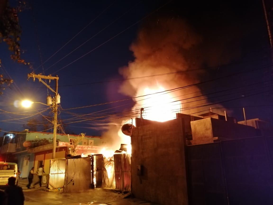 Incendio en Mixco