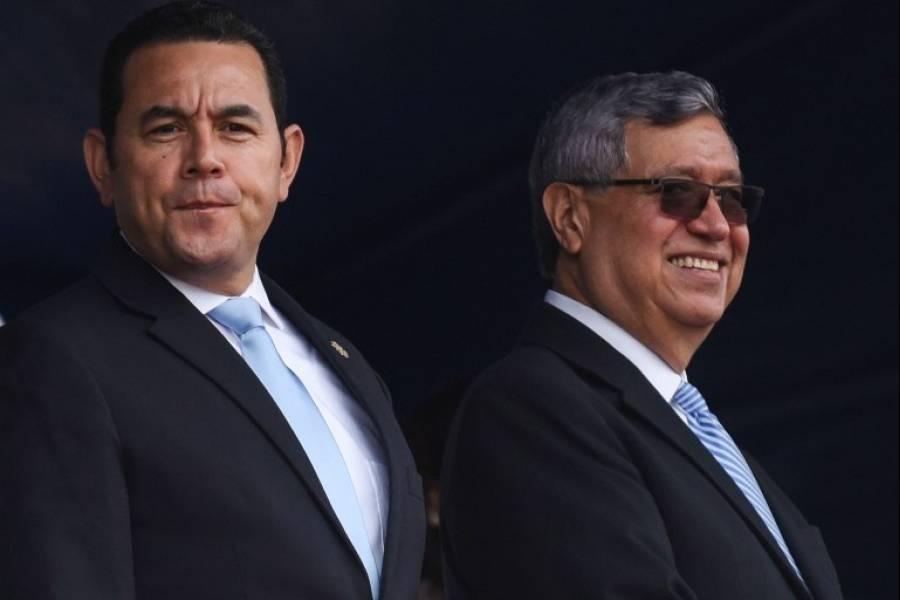 Jimmy Morales y Jafeth Cabrera podría asumir el Parlacen
