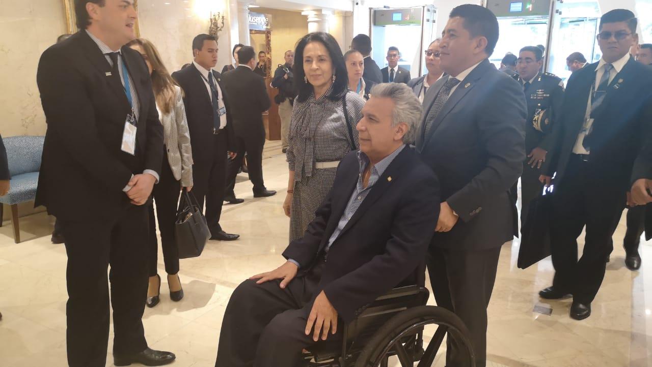 Presidente de Ecuador dice aspirar a un TLC con Guatemala