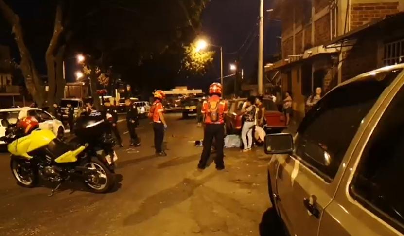 Balacera en la zona 21 deja varios muertos y heridos