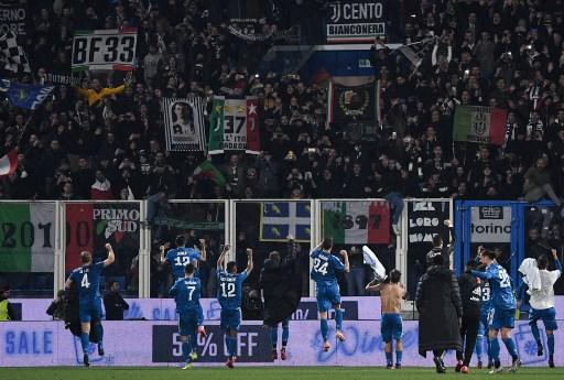 Italia posterga tres partidos de la Serie A por causa de coronavirus