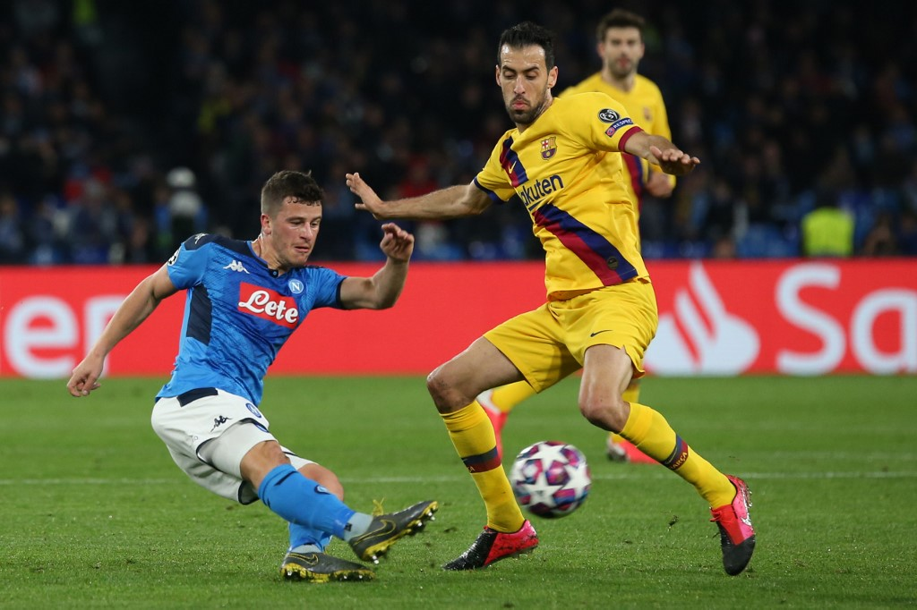 Napoli vs Barcelona, octavos de final Champions League