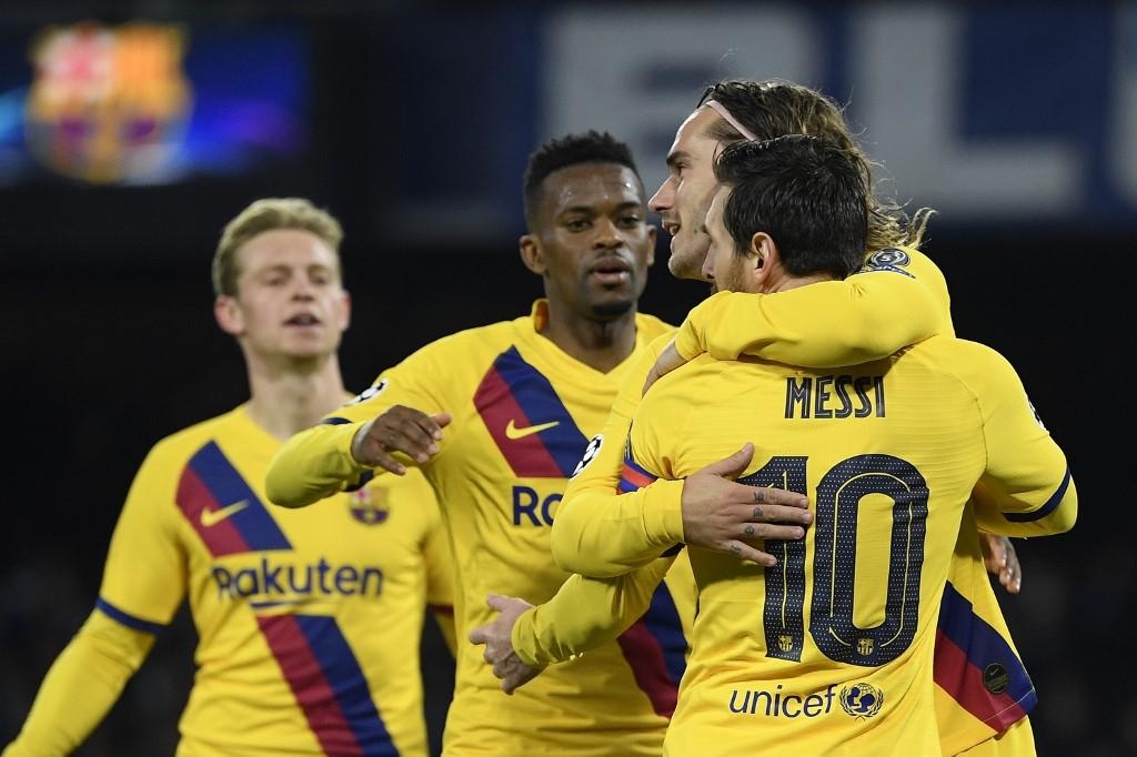 Napoli vs Barcelona, octavos de final Champions