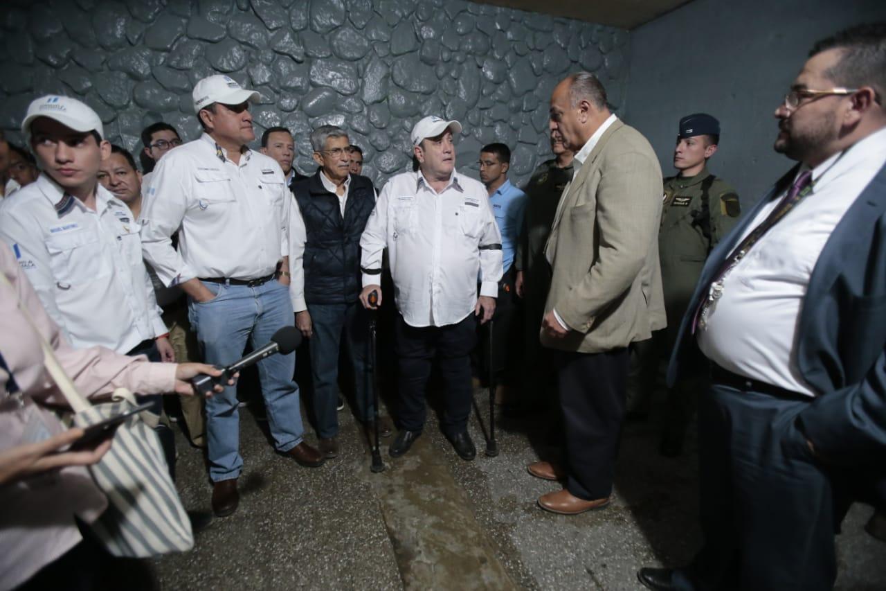 Presidente Giammattei anuncia inicio de plan donde reos deberán trabajar para comer