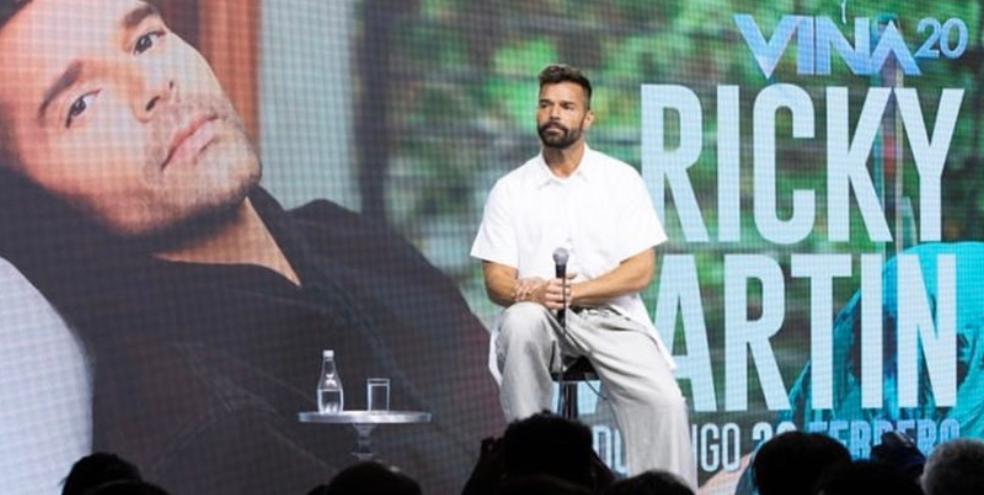 Ricky Martin apoya protestas en Chile y genera expectativa para abrir Viña del Mar