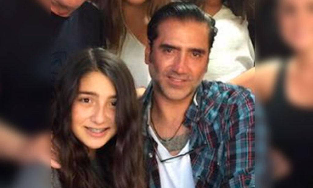 Hija menor Alejandro Fernandez