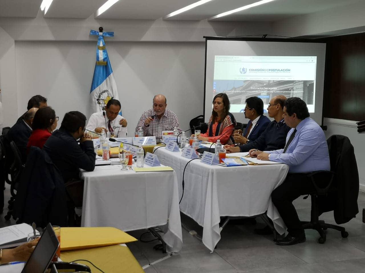 Comisión de Postulación para el TSE.