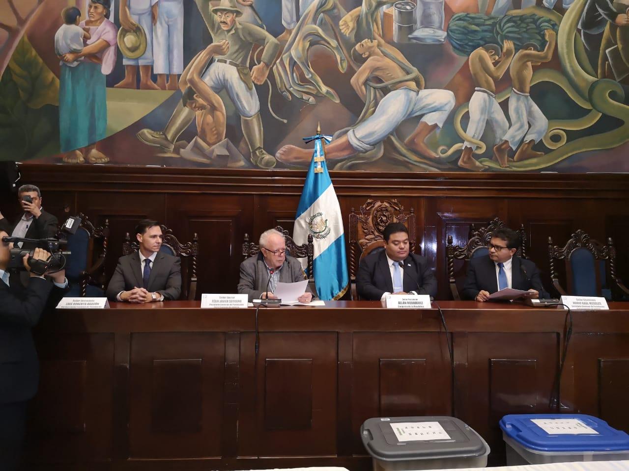 Postuladora CSJ define nómina y la entrega al Congreso
