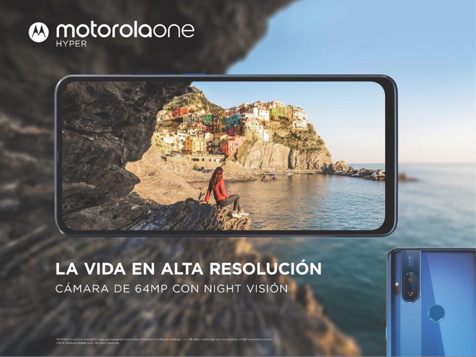 Motorola One Hyper el smartphone