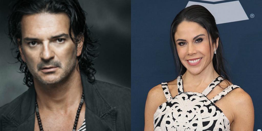 Paola Rojas y Ricardo Arjona
