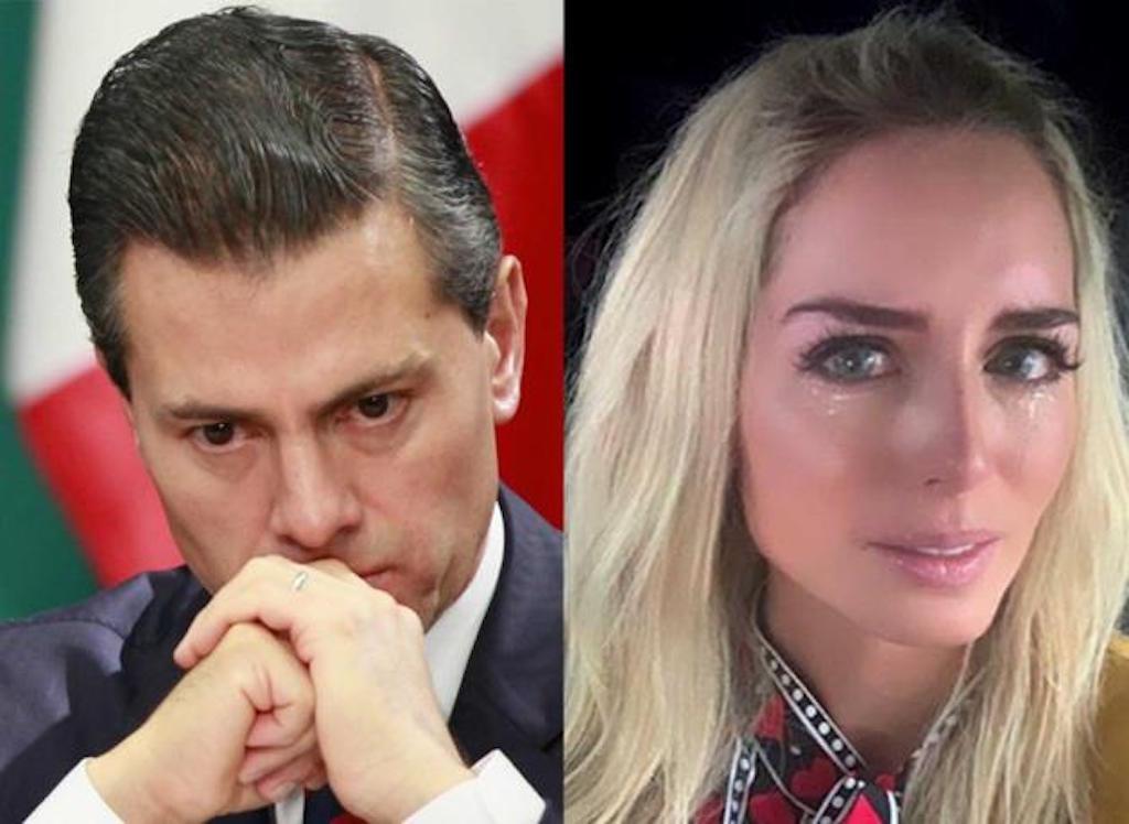 Tania Ruiz y Enrique Peña Nieto