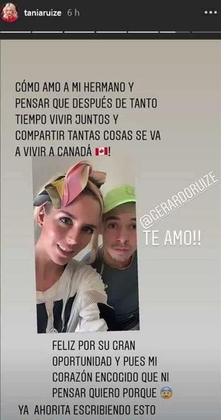 Tania Ruiz llora