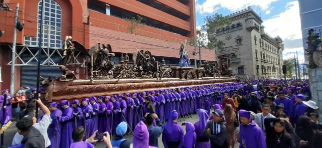 Jesús Nazareno de la Justicia recorre el Centro Histórico