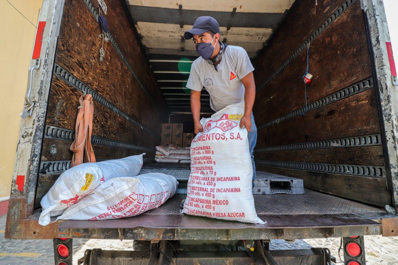 Cervecería Centroamericana dona Incaparina en Antigua Guatemala